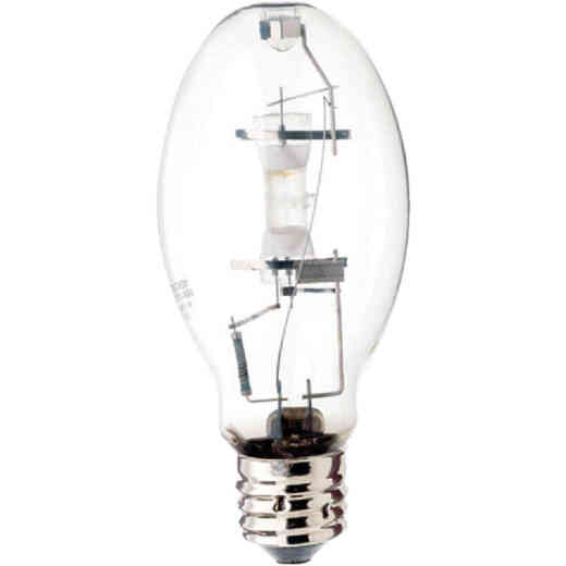 Satco 175W Clear ED28 Mogul Screw Mercury Vapor High-Intensity Light Bulb