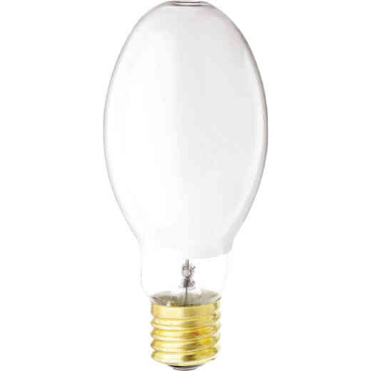 Satco 175W Coated ED28 Mogul Screw Mercury Vapor High-Intensity Light Bulb