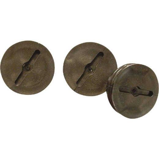 Bell 1/2 In. Bronze Closure Plug (3-Pack)