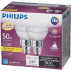 Philips 50W Equivalent Bright White PAR20 Medium Dimmable LED Floodight Light Bulb (2-Pack) Image 5