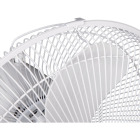 Best Comfort 12 In. 3-Speed White Oscillating Table Fan Image 6