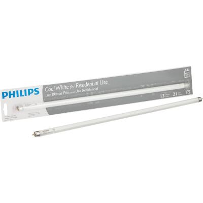 Philips 13W 21 In. Cool White T5 Miniature Bi-Pin Fluorescent Tube Light Bulb