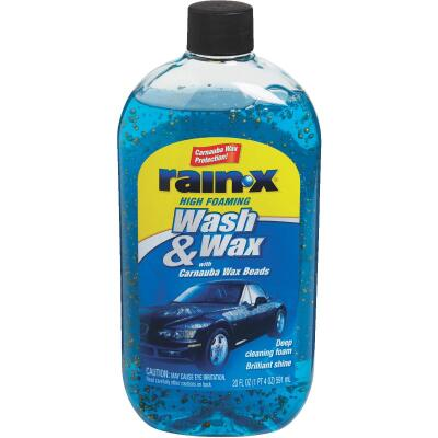 RAIN-X 20 oz Foam with Carnauba Wax Beads Car Wash