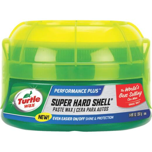Turtle Wax Super Hard Shell Paste 14 oz Car Wax