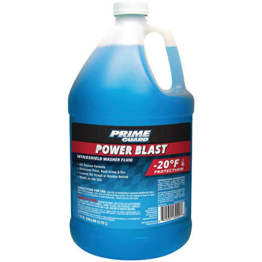 Prime Guard Power Blast 1 Gal. -20 Deg F All Season Formula Windshield Washer Fluid with Antifreeze