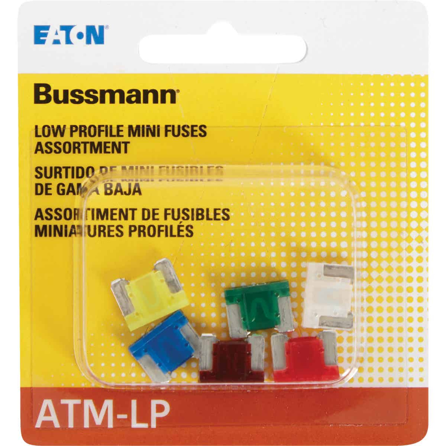 Bussmann ATM Low Profile Mini Fuse Assortment (6-Piece) Image 2