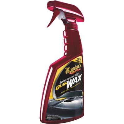 Meguiars Quik Wax 24 oz Trigger Spray Spray Car Wax