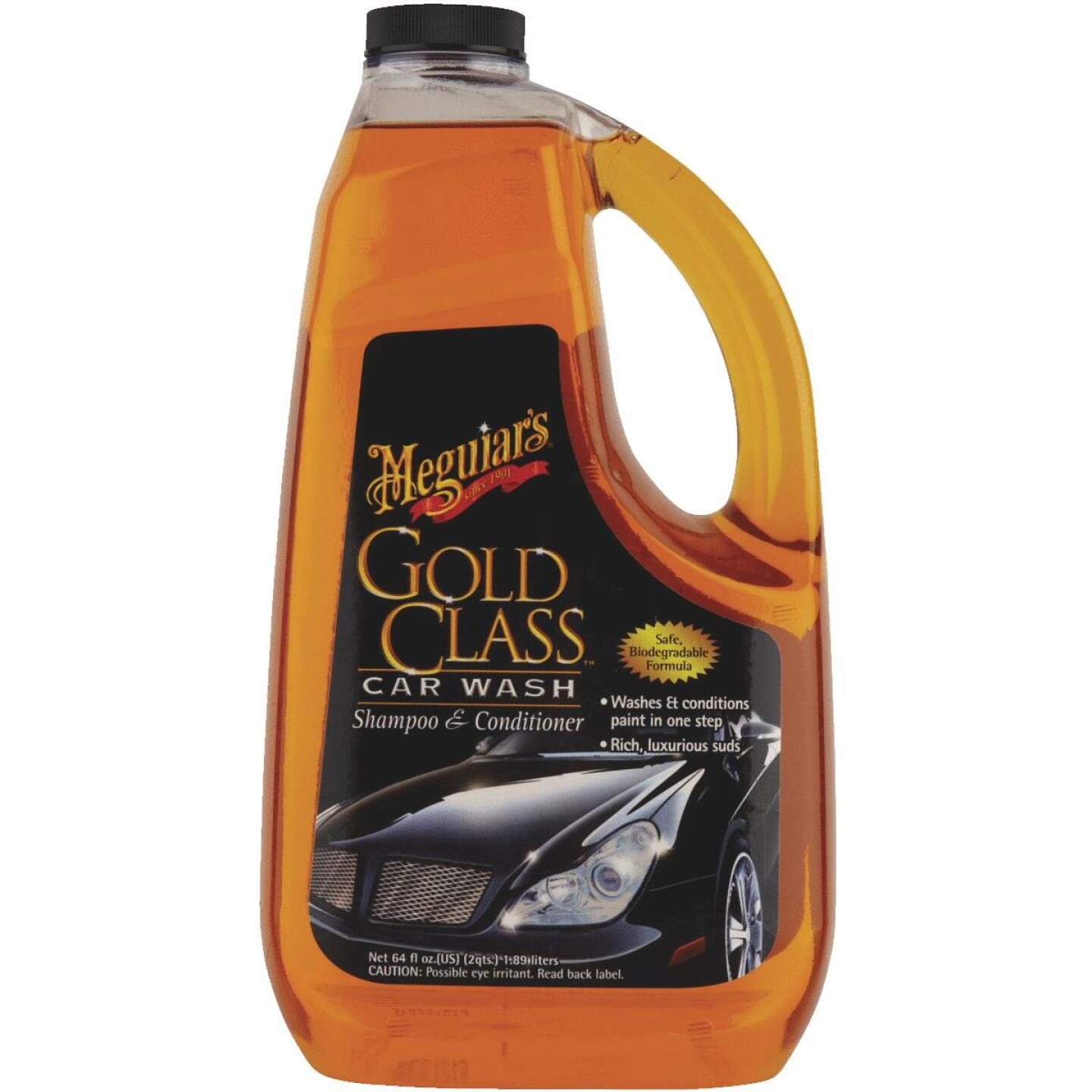 Meguiars 64 Oz. Liquid Gold Class Car Wash Image 2