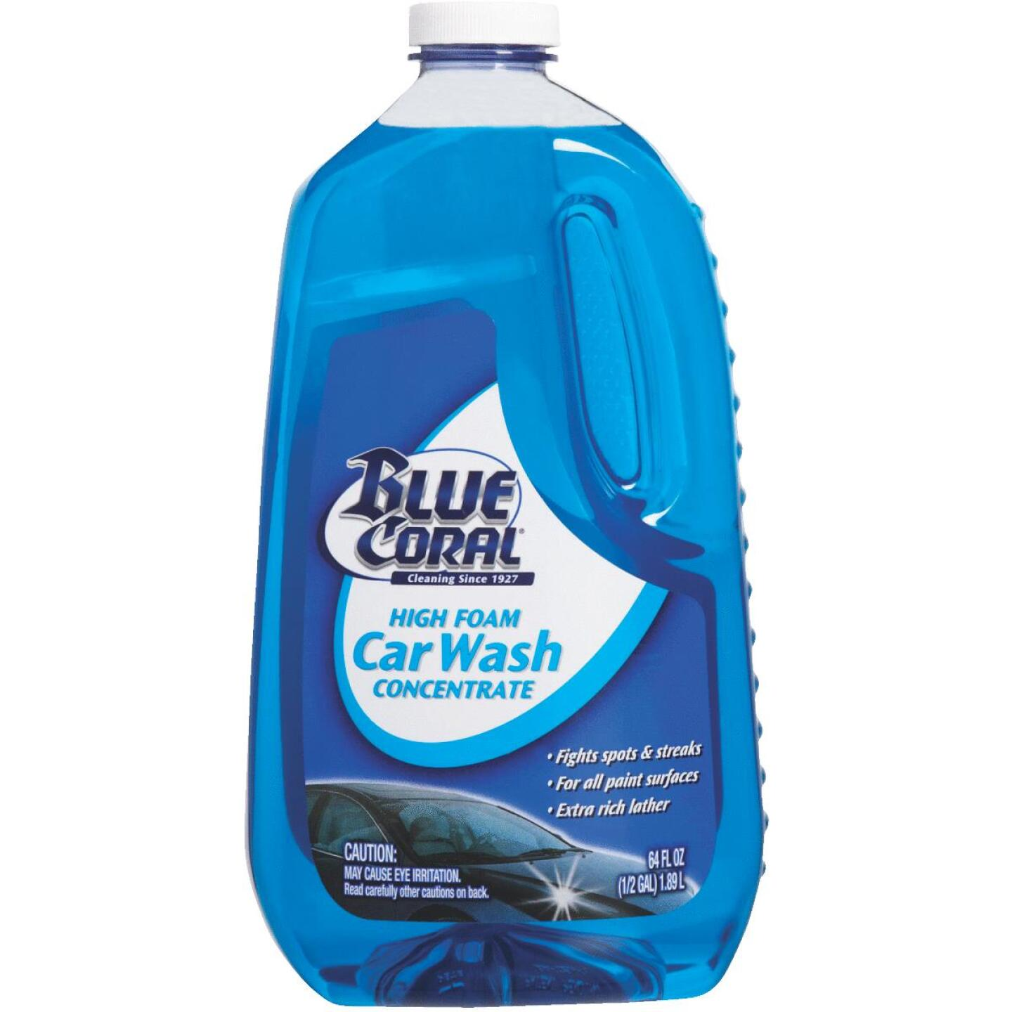 Blue Coral 64 Oz. Liquid High Foam Concentrate Car Wash Image 1