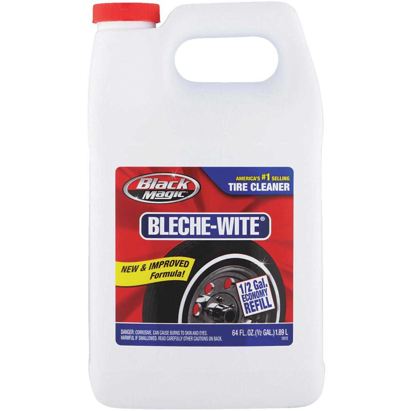 Black Magic Bleche-wite 64 Oz. Pourable Tire Cleaner Image 1