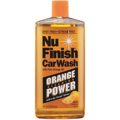 Nu Finish 16 Oz. Liquid Concentrate Orange Cleaning Power Car Wash
