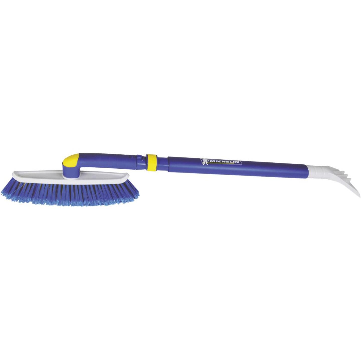Michelin 50 In. Steel Hybrid Telescopic Snowbrush with Ice Scraper Image 1