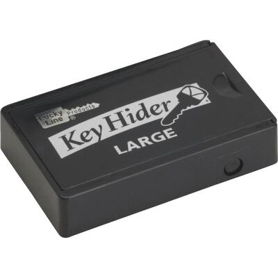 Lucky Line Black Plastic 1-7/8 In. Key Hider