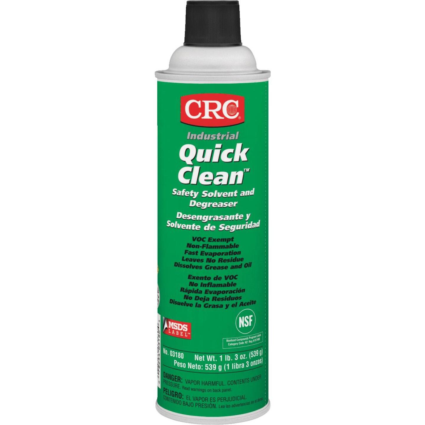 CRC Quick Clean 19 Oz. Aerosol Degreaser Image 1
