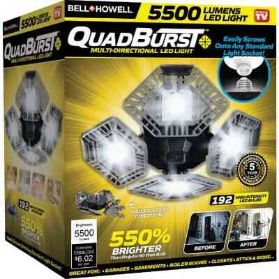 Bell+Howell QuadBurst Multi-Directional LED Light