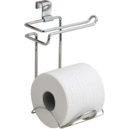 InterDesign Classico Chrome Over-the-Tank Toilet Paper Holder