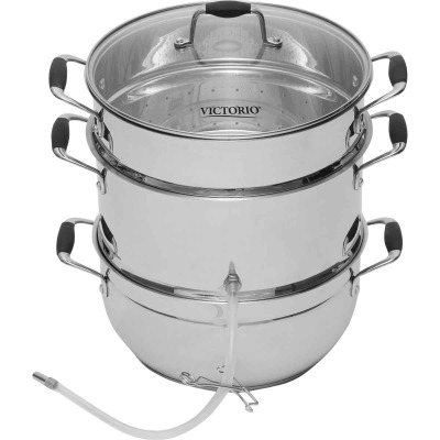 Roots & Branches Deluxe Stainless Steel Steam Juicer