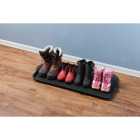 XL 18.9 In. x 39.3 In. Black Recycled Plastic Boot Tray Image 2