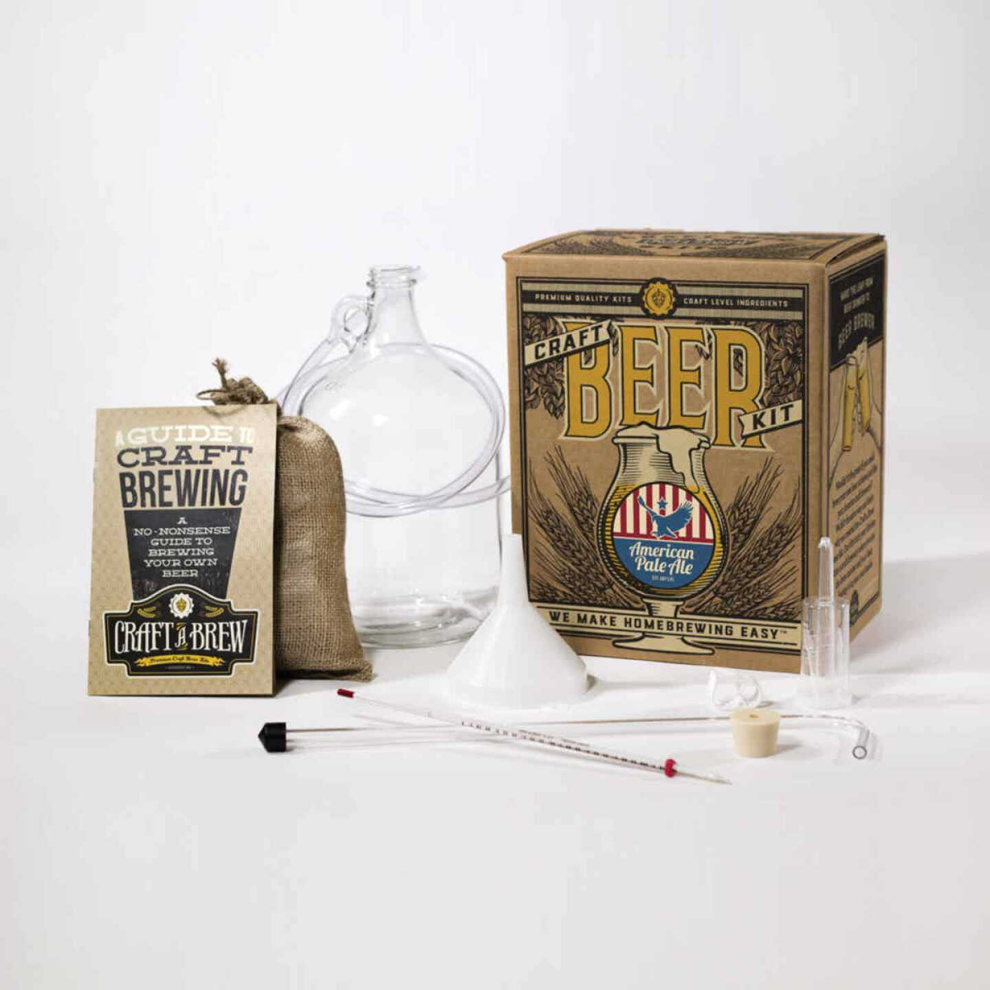 Craft A Brew American Pale Ale Beer Brewing Kit (11-Piece) Image 2