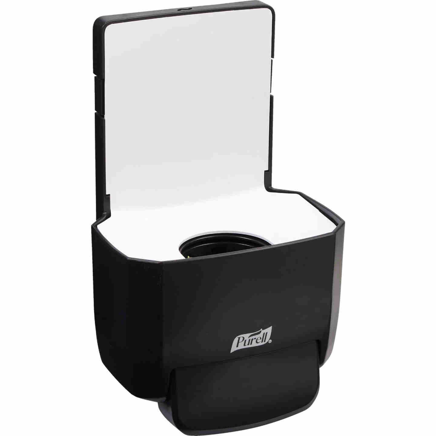 Purell ES4 Black Push-Style 1200mL Soap Dispenser Image 1