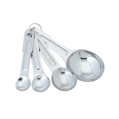 Norpro Stainless Steel Measuring Spoons (4-Piece)