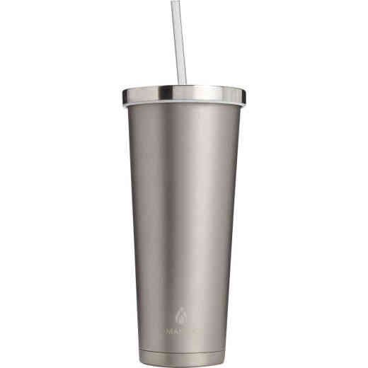 Manna 24 Oz. Stainless Steel Chilly Insulated Tumbler