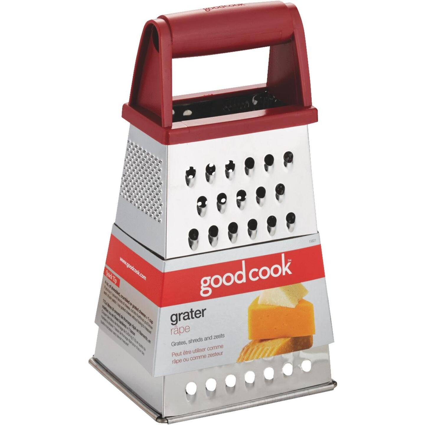 Goodcook 4-Sided Stainless Steel Grater Image 1