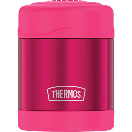 Thermos Funtainer 10 Oz. Pink Stainless Steel Food Jar
