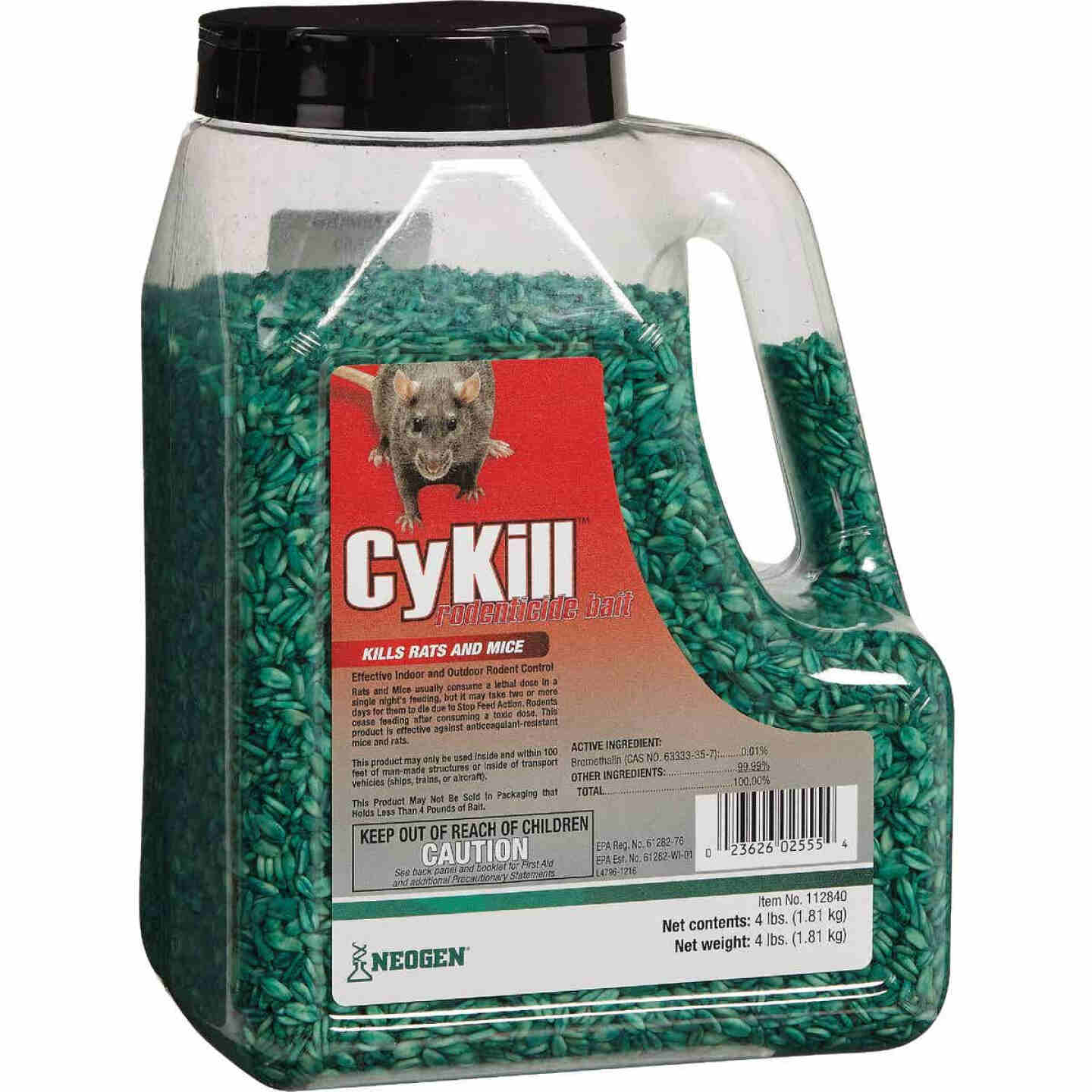 CyKill Seed Meal Bait Rat And Mouse Poison, 4 Lb. Image 1
