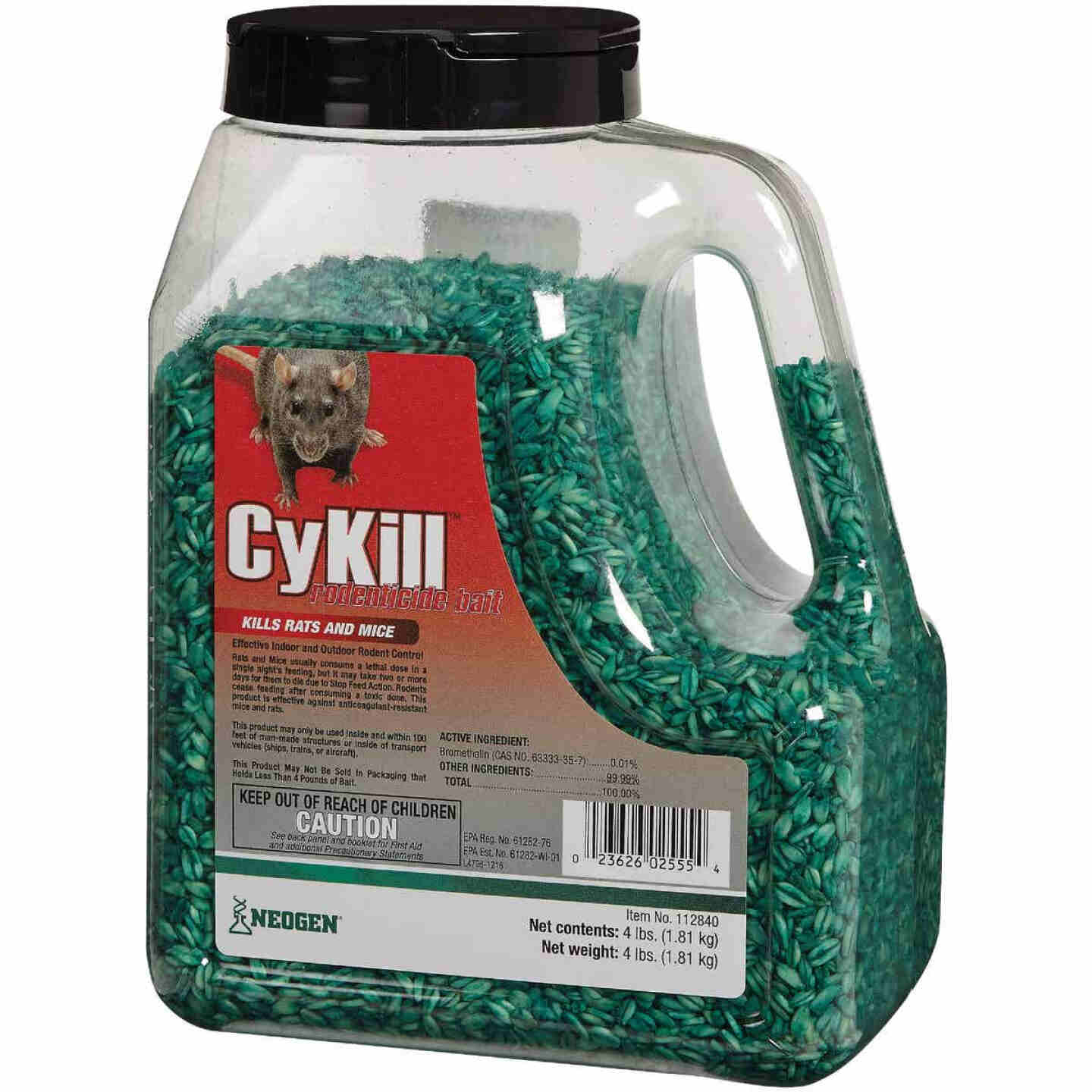 CyKill Seed Meal Bait Rat And Mouse Poison, 4 Lb. Image 3