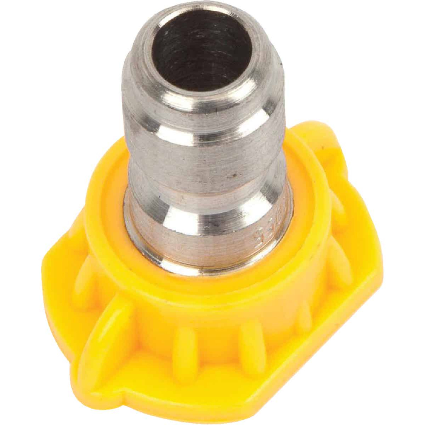 Forney Quick Connect 5.5mm 15 Deg. Yellow Pressure Washer Spray Tip Image 3