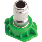 Forney Quick Connect 4.5mm 25 Deg. Green Pressure Washer Spray Tip Image 3