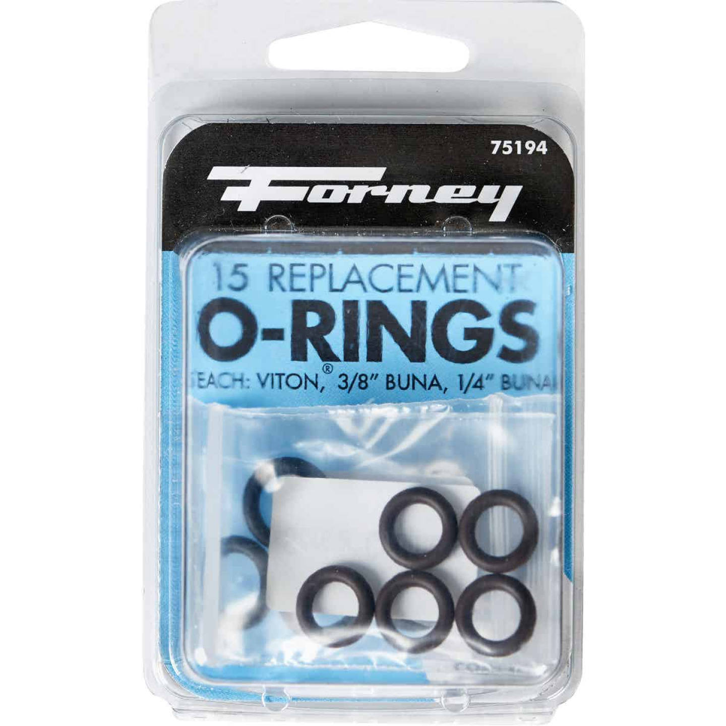 Forney Quick Coupler & Screw Coupler Pressure Washer O-Ring (15-Piece) Image 1