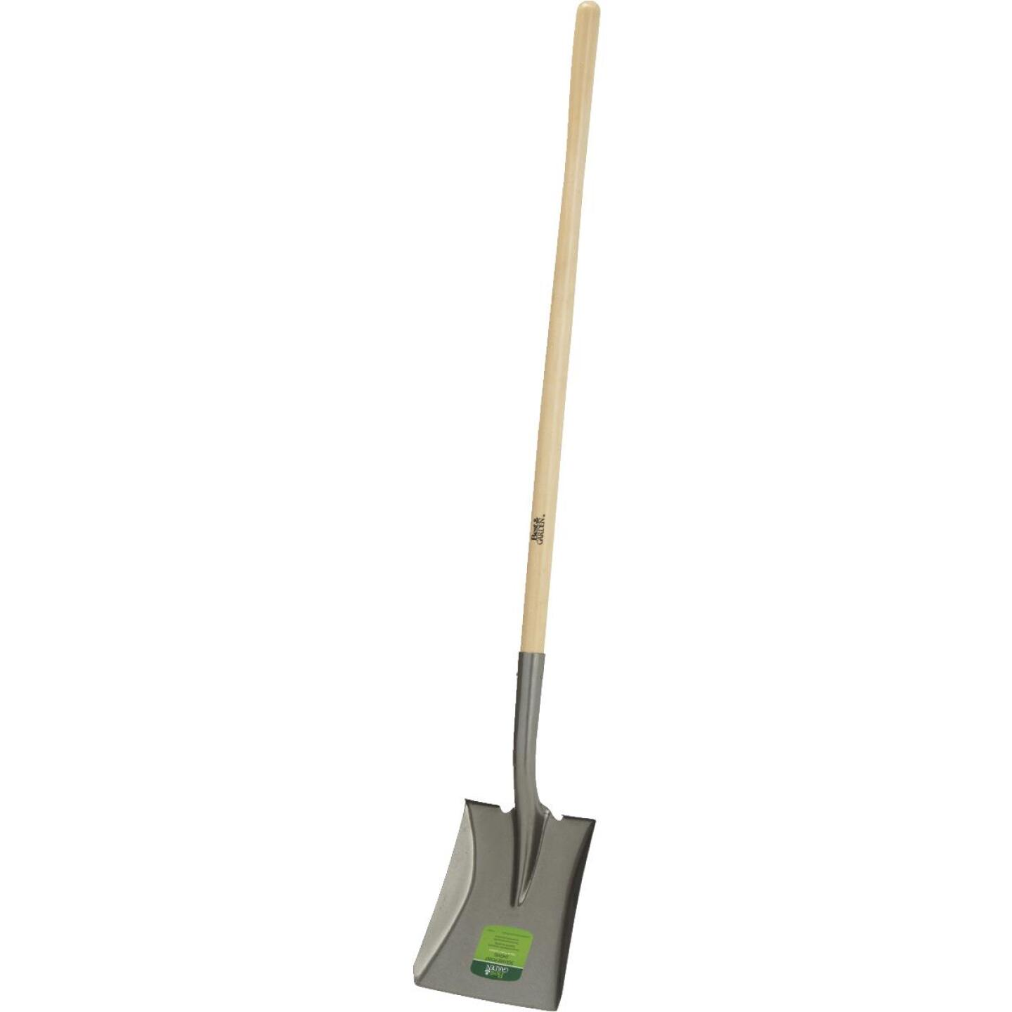 Best Garden 44 In. Wood Handle Square Point Shovel Image 5
