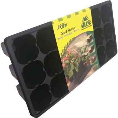 Jiffy 72-Cell Seed Starter Greenhouse Seed Start Kit Refill