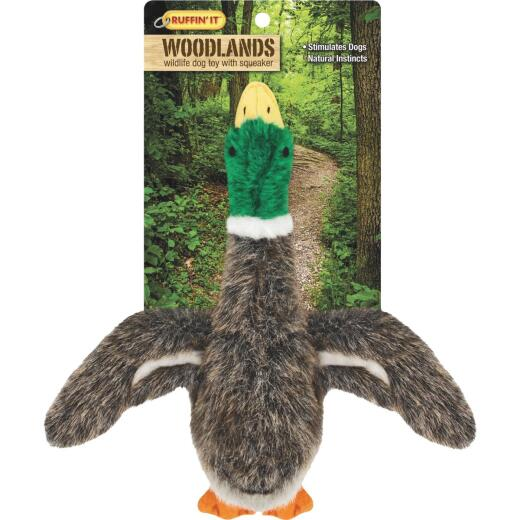 Westminster Pet Woodlands 9 In. Plush Mallard Dog Toy
