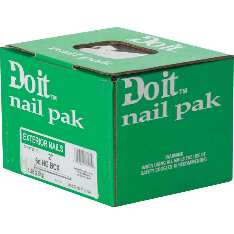 Do it 6d x 2 In. 12-1/2 ga Hot Galvanized Box Nails (1180 Ct., 5 Lb.) Image 2