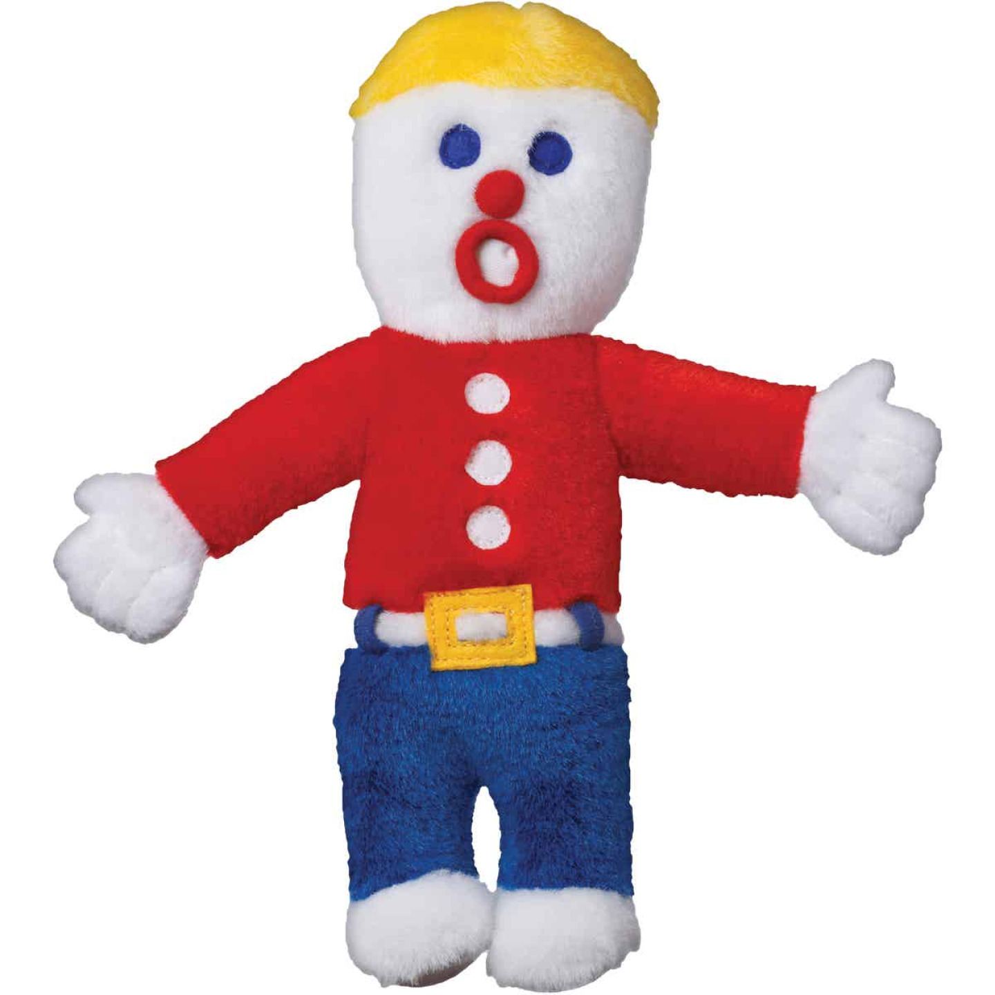 Multipet 10 In. Plush Mr. Bill Dog Toy Image 1
