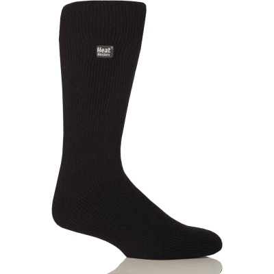 Heat Holders Men's 7 to 12 Black Thermal Sock