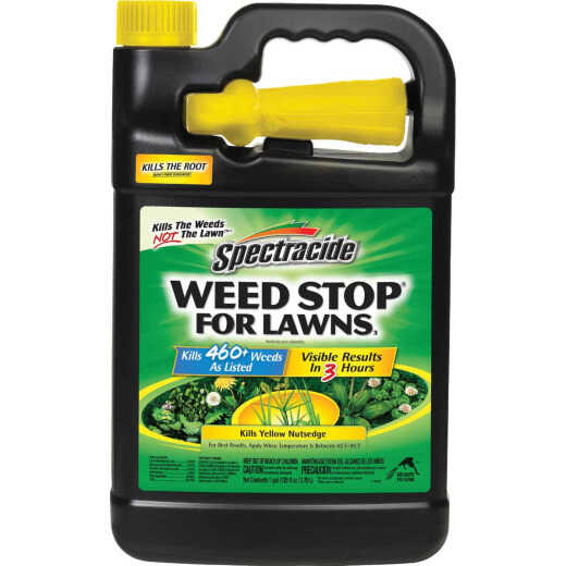 Spectracide Weed Stop For Lawns 1 Gal. Ready To Use Trigger Spray Weed Killer