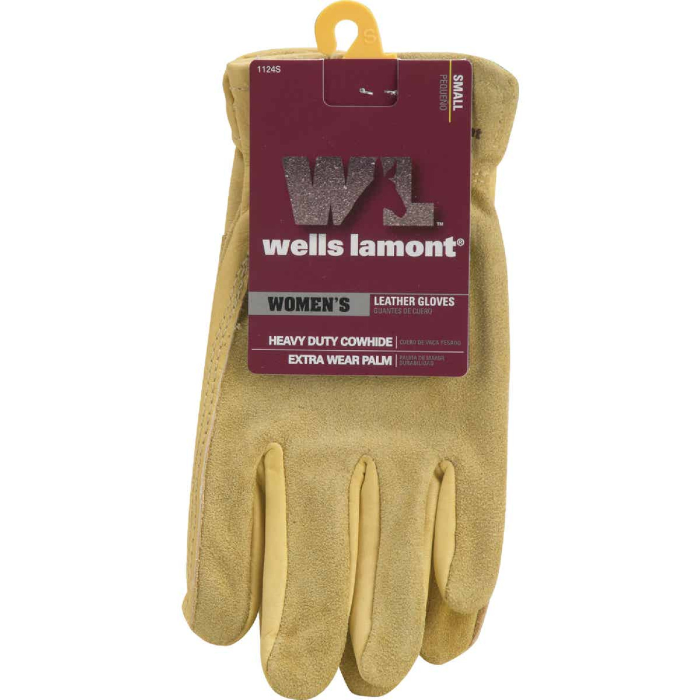 Wells Lamont Women's Small Grain Cowhide Leather Work Glove Image 2