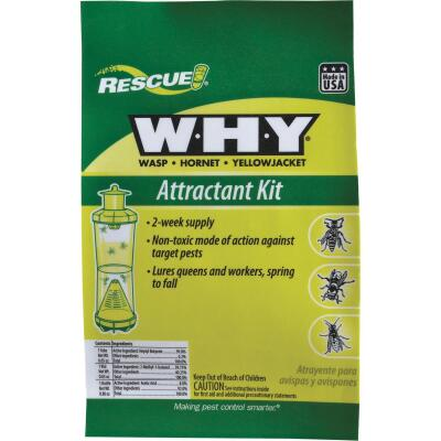 Rescue WHY Liquid Outdoor Wasp, Hornet, & Yellow Jacket Attractant Kit
