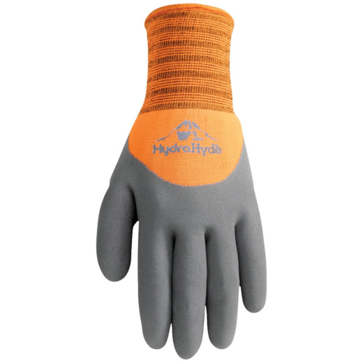 Wells Lamont HydraHyde Men's Medium Winter Lined Latex Glove
