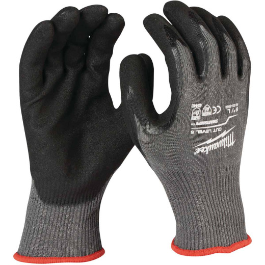 Milwaukee Men's XL Nitrile Coated Cut Level 5 Work Glove
