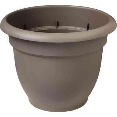 Bloem Ariana 13.75 In. H. x 16 In. Dia. Plastic Self Watering Charcoal Planter