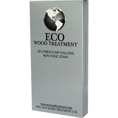 Eco Wood Treatment Exterior Wood Stain & Preservative, 5 Gal.