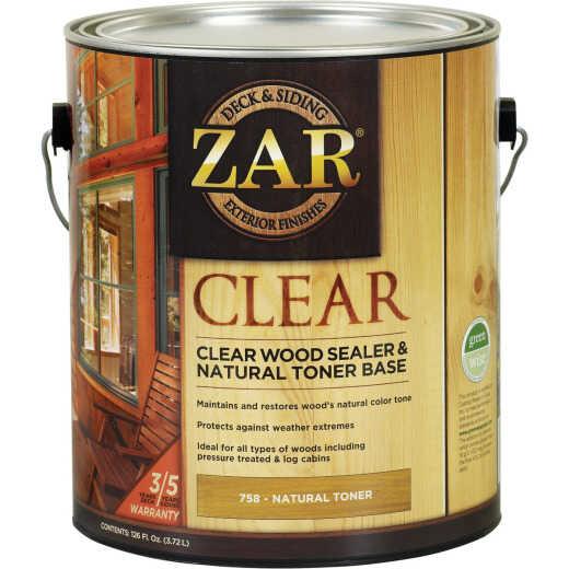 Zar 1 Gal. Deck & Siding Clear Wood Sealer & Stain