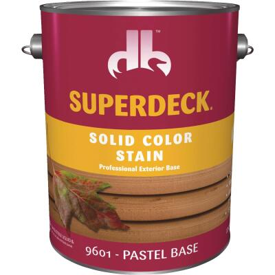 Duckback SUPERDECK Self Priming Solid Color Stain, Pastel Base, 1 Gal
