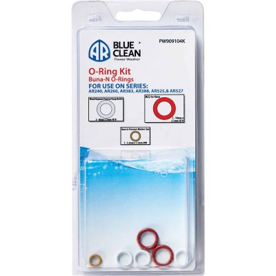 AR Blue Clean Pressure Washer O-Ring Kit (5-Piece)