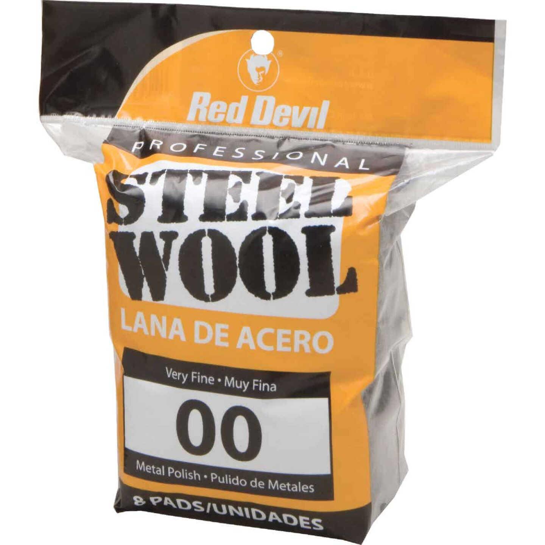 Red Devil #00 Steel Wool (8 Pack) Image 1